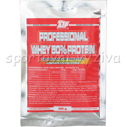 Professional 50% Whey Protein - 35g-banan