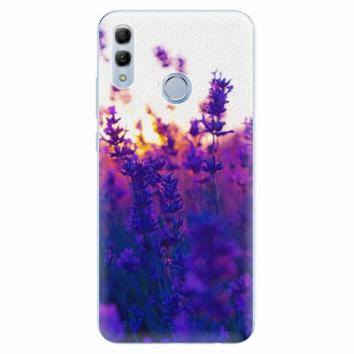 Silikonové pouzdro iSaprio - Lavender Field - Huawei Honor 10 Lite