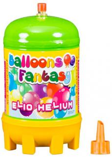 Helium náhradní 1,0l jednorázové pro nafukovací balonky