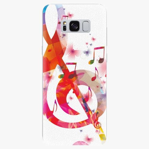 Plastový kryt iSaprio - Love Music - Samsung Galaxy S8 Plus