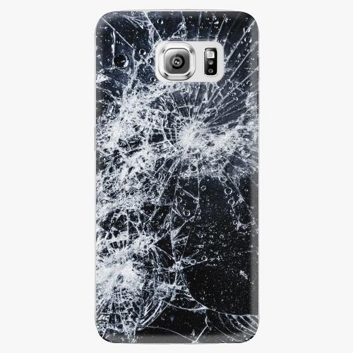 Plastový kryt iSaprio - Cracked - Samsung Galaxy S6 Edge