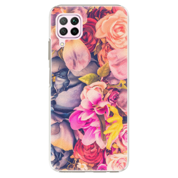 Plastové pouzdro iSaprio - Beauty Flowers - Huawei P40 Lite