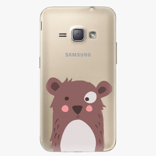 Plastový kryt iSaprio - Brown Bear - Samsung Galaxy J1 2016
