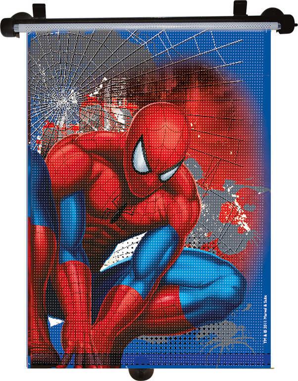Roletka sluneční dětská do auta Spiderman 41x49cm