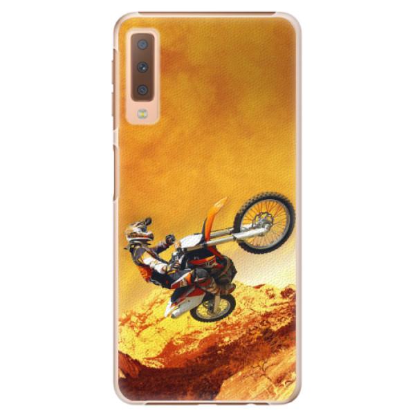 Plastové pouzdro iSaprio - Motocross - Samsung Galaxy A7 (2018)