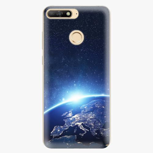 Silikonové pouzdro iSaprio - Earth at Night - Huawei Y6 Prime 2018