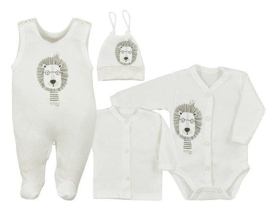 koala-baby-4-dilna-bavlnena-soupravicka-do-porodnice-simba-ecru-50-0-1m