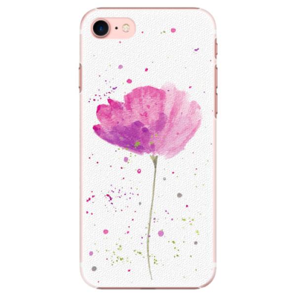 Plastové pouzdro iSaprio - Poppies - iPhone 7