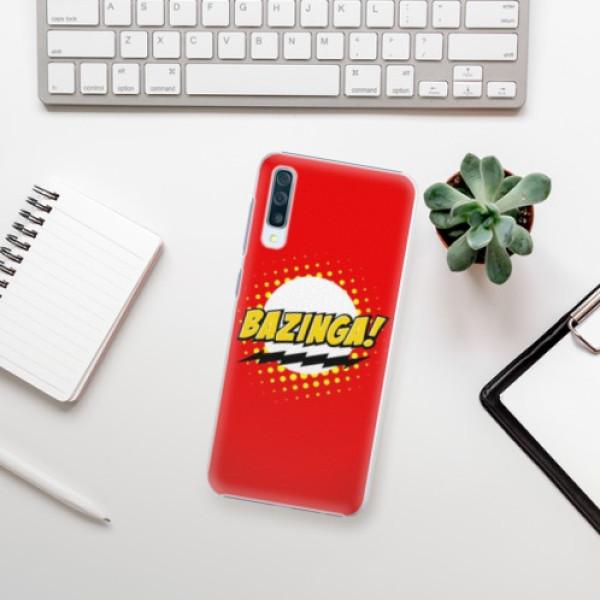 Plastové pouzdro iSaprio - Bazinga 01 - Samsung Galaxy A50