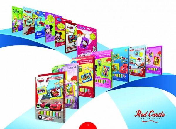 Pískování Disney 2v1 mix motivů v krabici