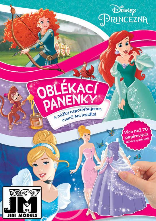 JM Panenky oblékací Princes;