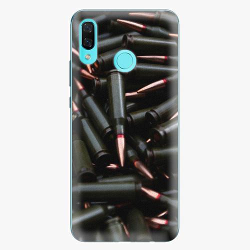 Plastový kryt iSaprio - Black Bullet - Huawei Nova 3