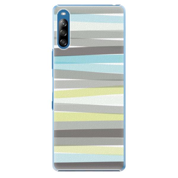 Plastové pouzdro iSaprio - Stripes - Sony Xperia L4