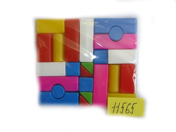 PL Kostky stavební soft plastové set 23 kusů