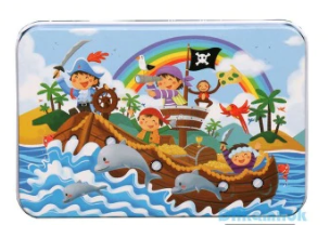 Dětské puzzle - piráti