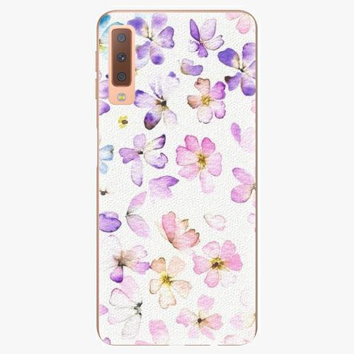 Plastový kryt iSaprio - Wildflowers - Samsung Galaxy A7 (2018)