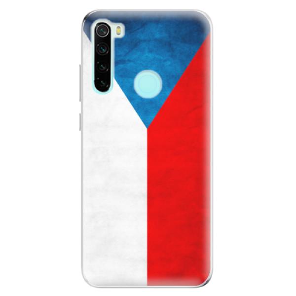 Odolné silikonové pouzdro iSaprio - Czech Flag - Xiaomi Redmi Note 8