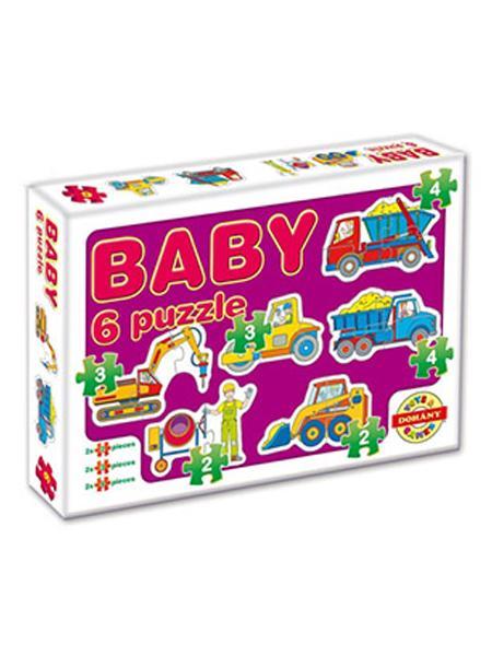 Dětské Baby puzzle - fialová