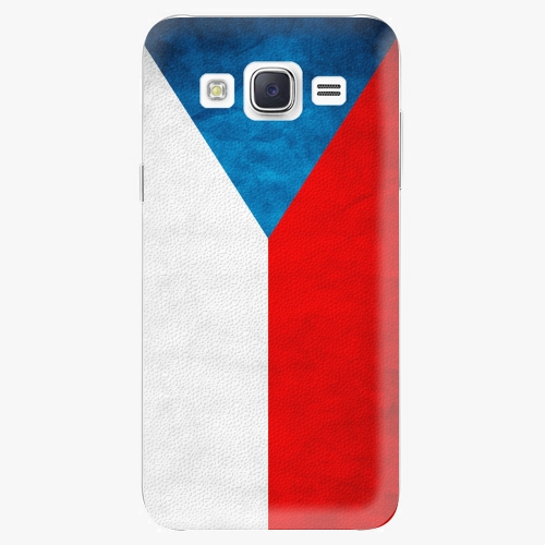 Plastový kryt iSaprio - Czech Flag - Samsung Galaxy J5
