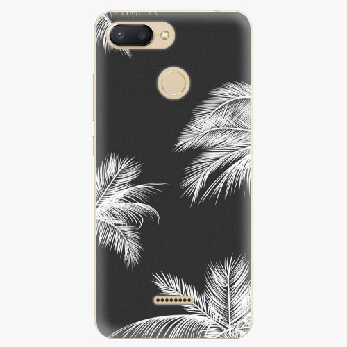 Silikonové pouzdro iSaprio - White Palm - Xiaomi Redmi 6