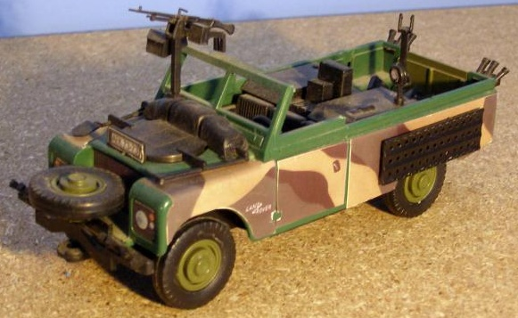 MONTI SYSTÉM 29 Auto Land Rover COMMANDO MS29 0101-29