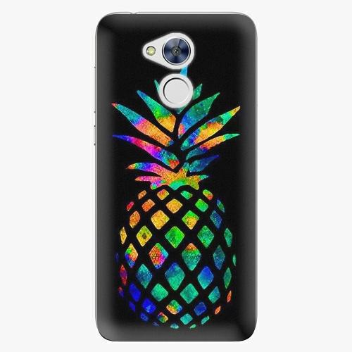 Plastový kryt iSaprio - Rainbow Pineapple - Huawei Honor 6A