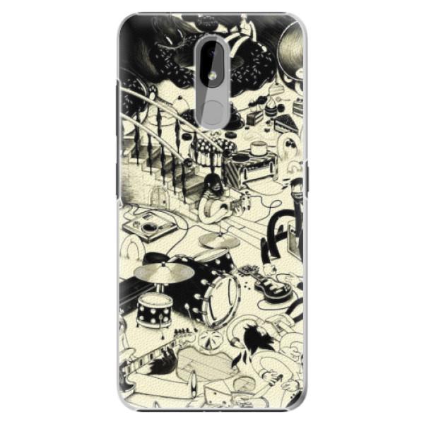 Plastové pouzdro iSaprio - Underground - Nokia 3.2
