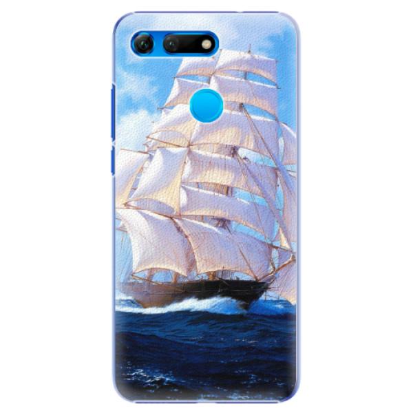 Plastové pouzdro iSaprio - Sailing Boat - Huawei Honor View 20