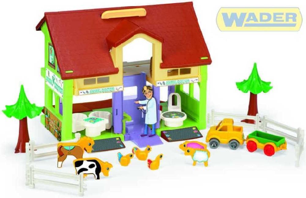 WADER Domeček na hraní veterinář 25460