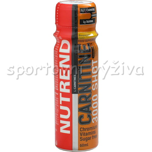 Carnitine 3000 Shot 60ml - ampule-ananas