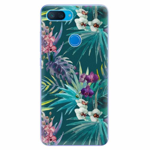 Silikonové pouzdro iSaprio - Tropical Blue 01 - Xiaomi Mi 8 Lite