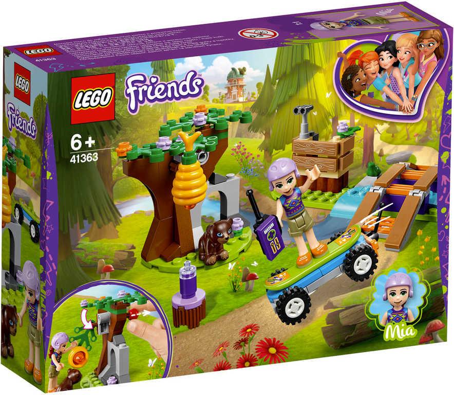 LEGO FRIENDS Mia a dobrodružství v lese 41363