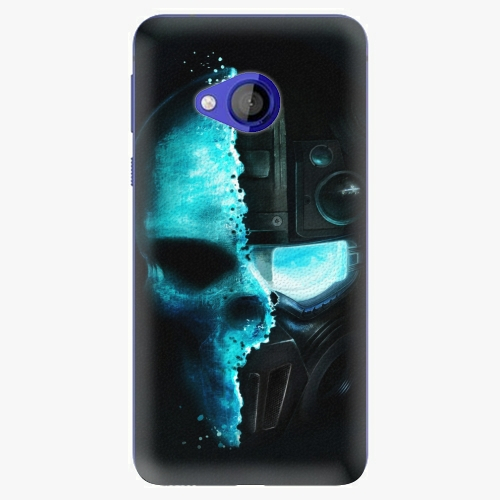 Plastový kryt iSaprio - Roboskull - HTC U Play