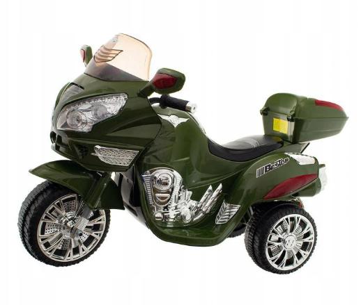 Euro Baby Akumulatorový motocykl - zelený
