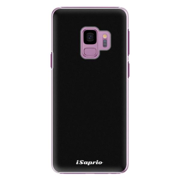 Plastové pouzdro iSaprio - 4Pure - černý - Samsung Galaxy S9