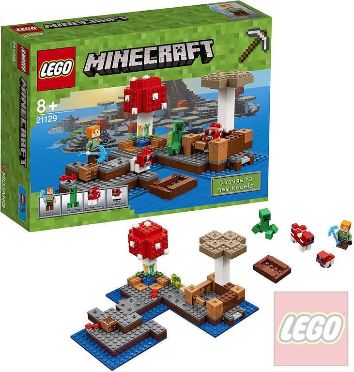LEGO MINECRAFT Ostrov hub 21129 STAVEBNICE