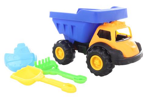 Auto na písek s bábovkami