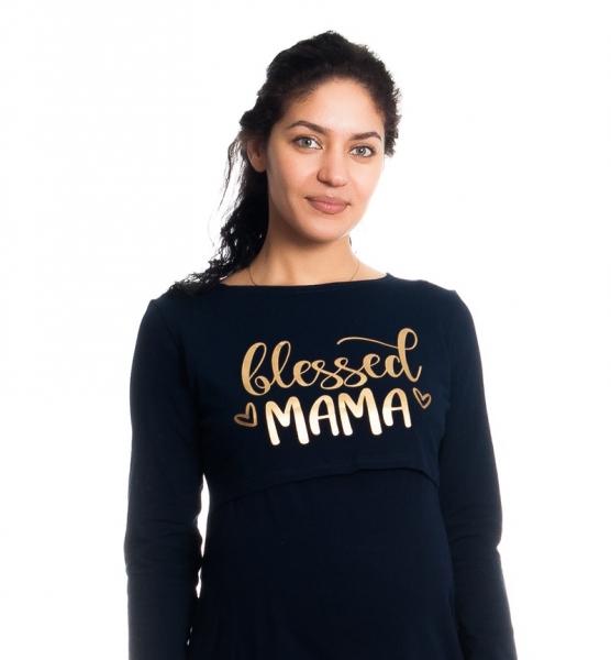 Be MaaMaa Těhotenská, kojící noční košile Blessed Mama