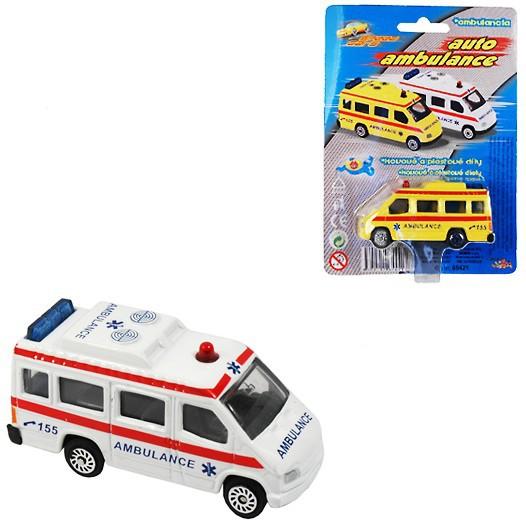 Auto Ambulance 7cm sanitka kov