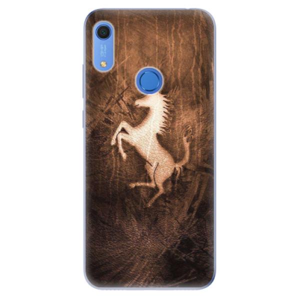 Odolné silikonové pouzdro iSaprio - Vintage Horse - Huawei Y6s