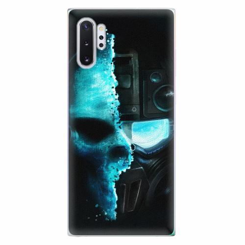 Silikonové pouzdro iSaprio - Roboskull - Samsung Galaxy Note 10+