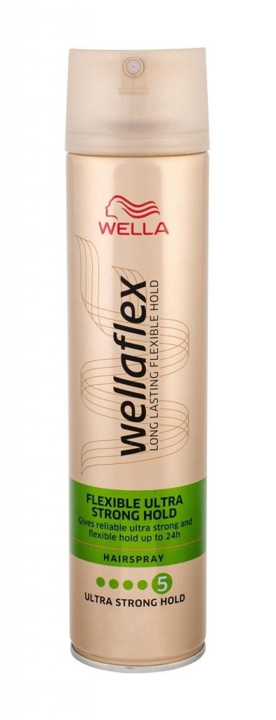 Wellaflex Flexible Ultra strong lak na vlasy 250 ml