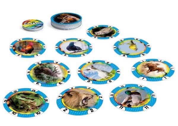 Kockatoo karetní společenská hra v krabičce 12 x 12 cm