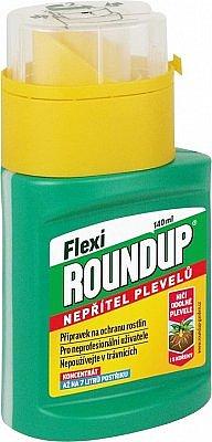 Roundup Flexi gel na hubení plevele, 140 ml