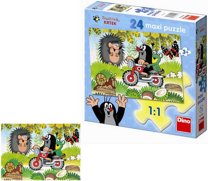 DINO Puzzle 24 dílků Krtek maxi