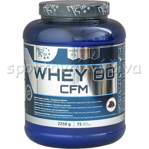 Whey 80 CFM - 2250g-vanilka