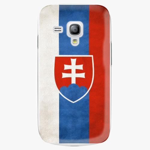 Plastový kryt iSaprio - Slovakia Flag - Samsung Galaxy S3 Mini