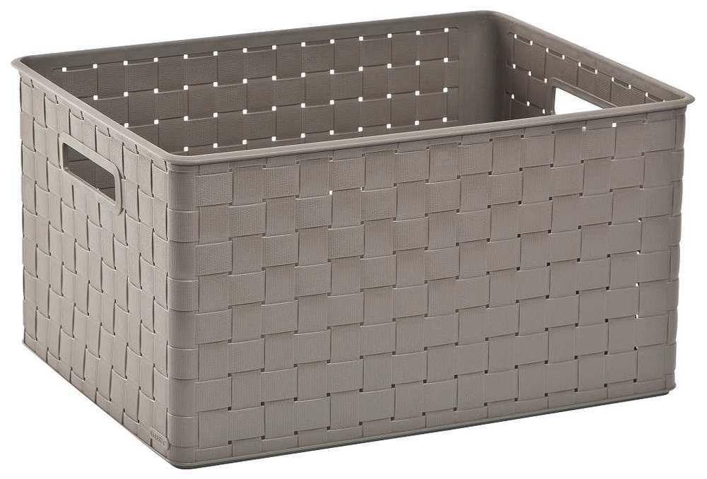 Úložný box NUANCE - 30 L, hnědý