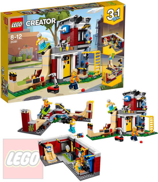 LEGO CREATOR Dům skejťáků 3v1 STAVEBNICE 31081