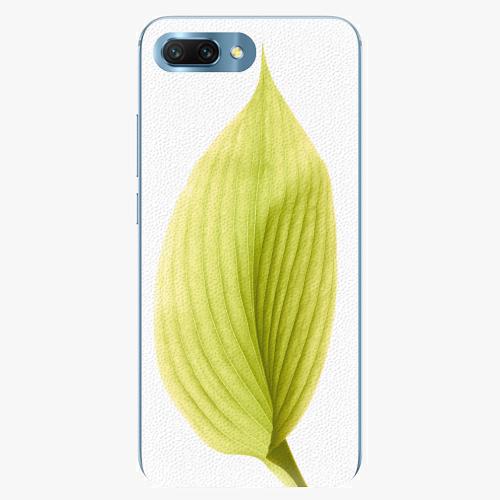 Silikonové pouzdro iSaprio - Green Leaf - Huawei Honor 10